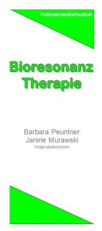 Bioresonanz-Therapie-Flyer