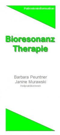 Abb. Bioresonanz-Therapie-Flyer