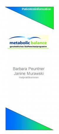 Abb. MB-Flyer (metabolic balance)